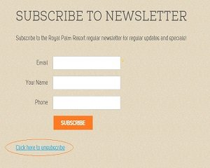 3 Reasons Your Guests Are Unsubscribing From Your Mailing List