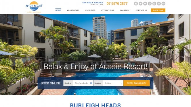 Aussieresort Home