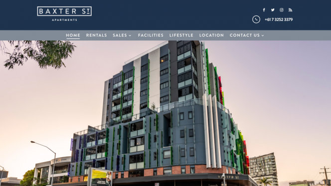 Baxter St Apartments Home Page